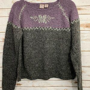 Susquehanna Trail Knit Women's Sweater M